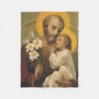 Cobertor De Velo Lírio de Jesus do bebê de St Joseph