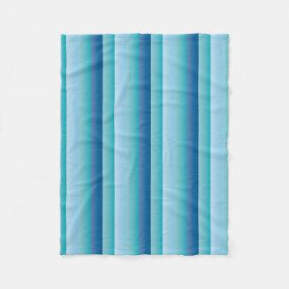 Cobertor De Velo Lista azuis