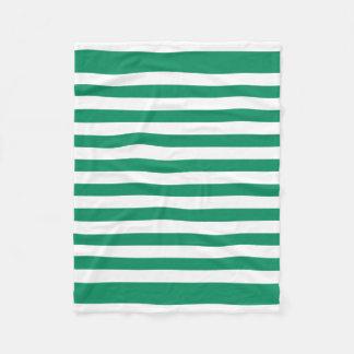 Cobertor De Velo Listras | verde & branco | | customizável