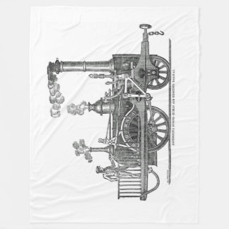 Cobertor De Velo Locomotiva de vapor adiantada