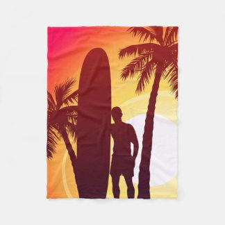 Cobertor De Velo Longboard e palmas
