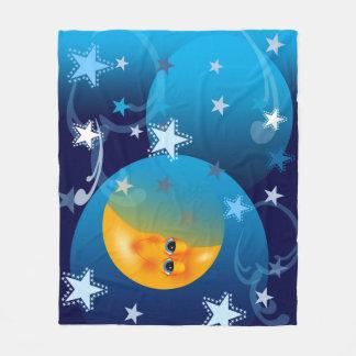 Cobertor De Velo Lua e cobertura das estrelas Goodnight
