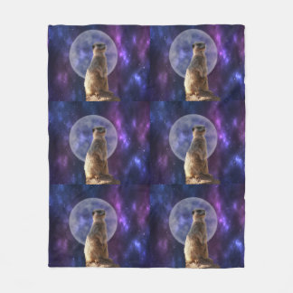 Cobertor De Velo Luar de Meerkat, cobertura média do velo