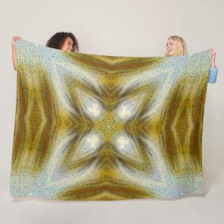 Cobertor De Velo Luxuoso da estrela do Shaman do espírito do urso
