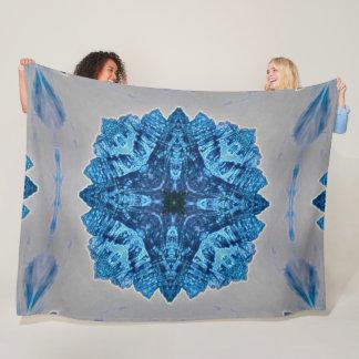 Cobertor De Velo Luxuoso tribal da mandala dos espírito do protetor