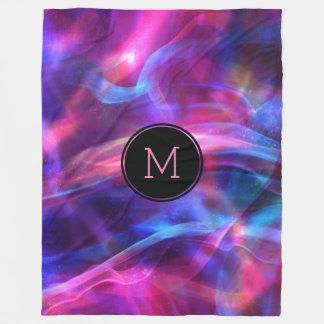 Cobertor De Velo Luz & Sparkles coloridos modernos de Bokeh