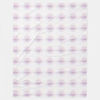 Cobertor De Velo Luz - teste padrão geométrico cor-de-rosa