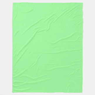 Cobertor De Velo (Luz - verde) cor sólida Pastel verde pálido
