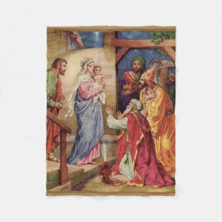 Cobertor De Velo Magi da Virgem Maria três reis Natividade Natal