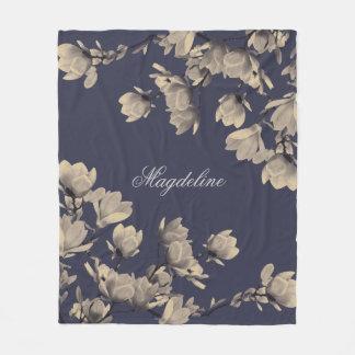 Cobertor De Velo Magnólias românticas do vintage