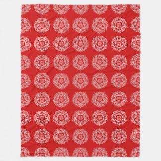 Cobertor De Velo Mandala da cereja