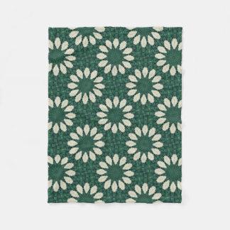 Cobertor De Velo Mandala. da folha verde e de prata de Sacramento