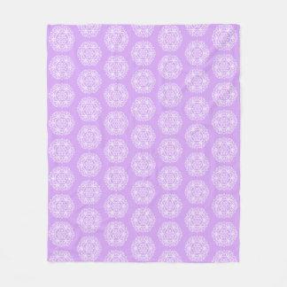 Cobertor De Velo Mandala da lavanda