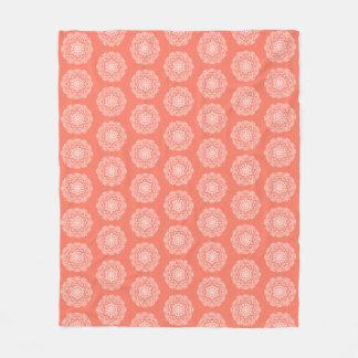 Cobertor De Velo Mandala da papaia