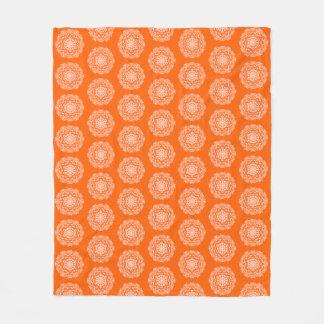 Cobertor De Velo Mandala da papoila
