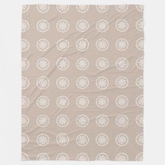 Cobertor De Velo Mandala de lãs
