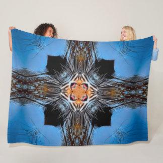 Cobertor De Velo Mandala decorativa do cetim de Armani do abstrato