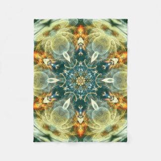 Cobertor De Velo Mandala do coração da cobertura do velo da mudança