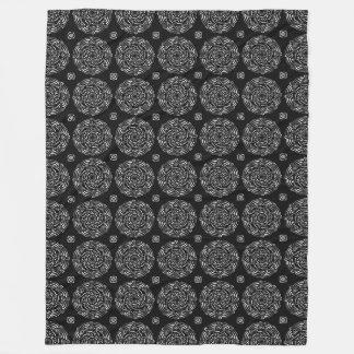 Cobertor De Velo Mandala do corvo