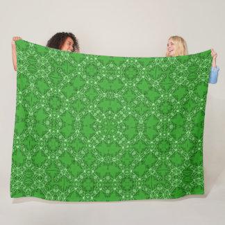 Cobertor De Velo Mandala do Foulard do cetim do jade do Victorian