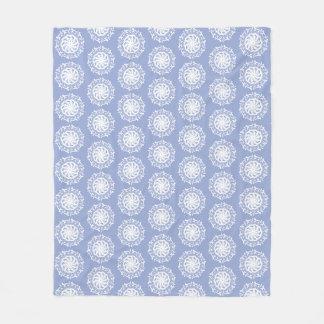 Cobertor De Velo Mandala do mirtilo
