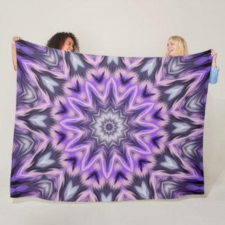 Cobertor De Velo Mandala do roxo do Lilac
