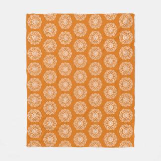 Cobertor De Velo Mandala do tarte de abóbora