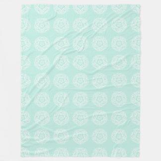 Cobertor De Velo Mandala do vidro do mar