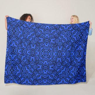 Cobertor De Velo Mandala havaiana azul do Foulard do cetim das