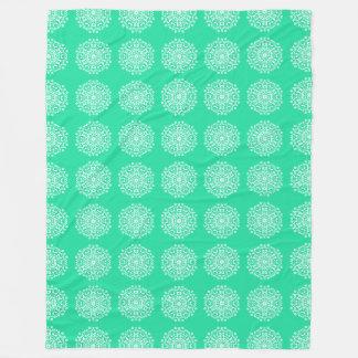 Cobertor De Velo Mandala Minty
