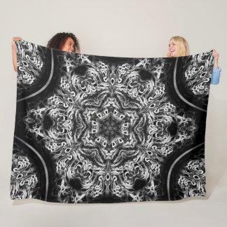 Cobertor De Velo Mandala nativa da flor de Lotus do sonho do dragão