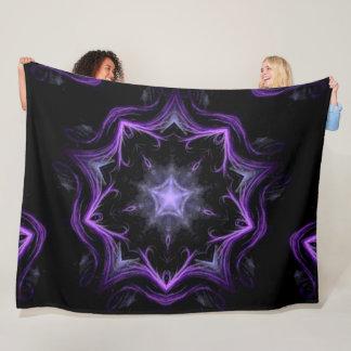 Cobertor De Velo Mandala nativa da roda do Shaman do unicórnio