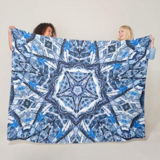 Cobertor De Velo Mandala pagã da estrela de Yuletide do Natal do