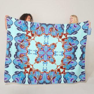 Cobertor De Velo Mandala pintado mão de seda do dragão chinês