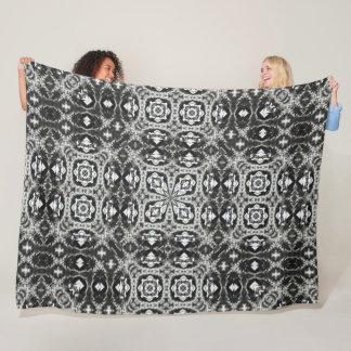 Cobertor De Velo Mandala preta decorativa do cetim do dragão de