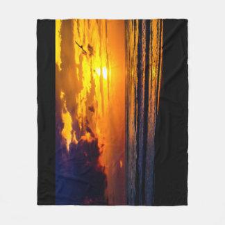 Cobertor De Velo Manhã morna da praia