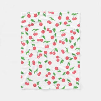 Cobertor De Velo mão bonito teste padrão tirado da cereja da