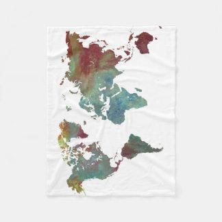 Cobertor De Velo mapa da palavra após a obscuridade