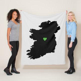 Cobertor De Velo Mapa do orgulho do irlandês de Ireland