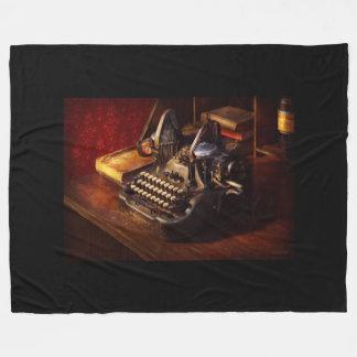Cobertor De Velo Máquina de dactilografia de Steampunk - de Oliver