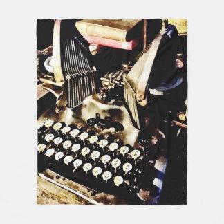 Cobertor De Velo Máquina de escrever antiga Oliver #9