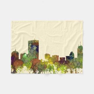 Cobertor De Velo Mas de Boston. Lustre do safari da skyline