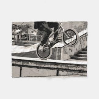 Cobertor De Velo Mestre do Wheelie - motociclista de BMX