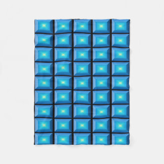 Cobertor De Velo Minimalismo geométrico de Deco do Aqua
