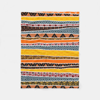 Cobertor De Velo Mistura africana do teste padrão