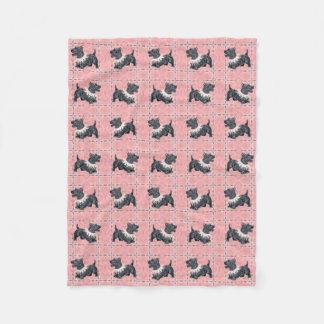 Cobertor De Velo Modo escocês do partido dos terrier
