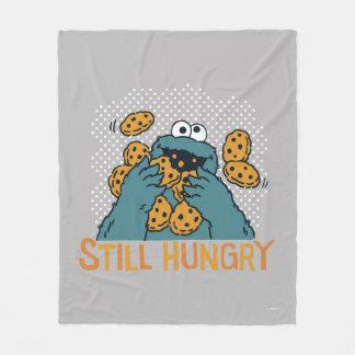 Cobertor De Velo Monstro do biscoito do Sesame Street | - ainda com