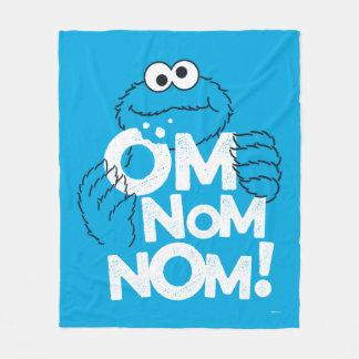 Cobertor De Velo Monstro do biscoito   OM Nom Nom!