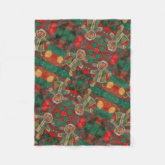 Cobertor De Velo Muito ursinho do Natal de Beary