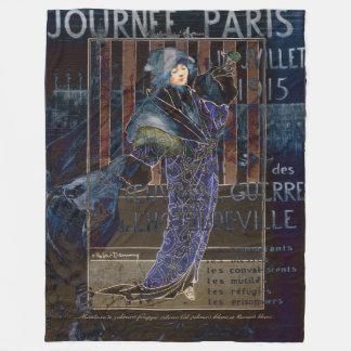 Cobertor De Velo Namorados Parisienne de Une